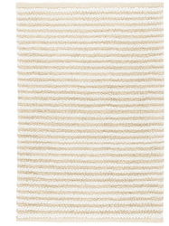Shear Stripe Ivory Woven Rug <font color=a8bb35>NEW</font>