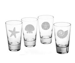 Shells Hi Ball Glass Set of 4