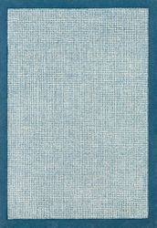 Siena Bright Blue Hand Tufted Rug <font color=a8bb35> NEW</font>