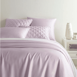 Silken Solid Pale Lilac Duvet Cover <font color=a8bb35>NEW</font>