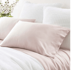Silken Solid Slipper Pink Pillowcases