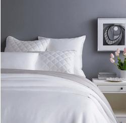 Silken Solid White Duvet Cover 15% Off