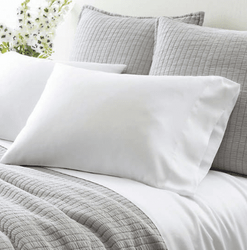 Silken Solid White Pillowcases 15% Off