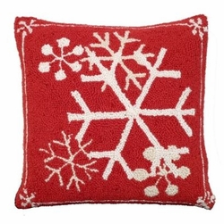 Snowflakes Christmas Pillow