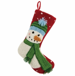 Snowman with Beanie Christmas Stocking<font color =a8bb35> Sold out</font>