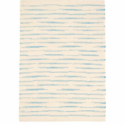 Solana Asiatic Blue Woven Cotton Rug *Sold out