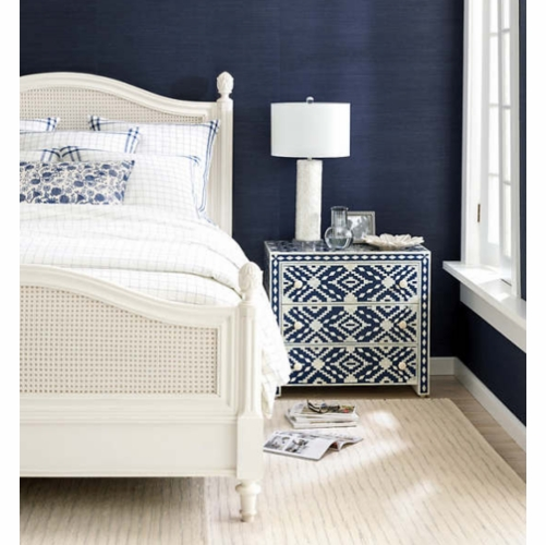 Solana Navy Woven Cotton Rug *Sold out
