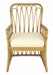 Sona Rattan Arm Chair in Two Colors