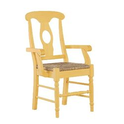 Sophie Arm Chair with Caning