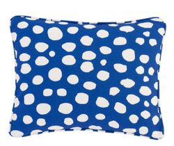 Spot On Indoor/Outdoor Pillow - Cobalt
