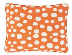 Spot On Indoor/Outdoor Pillow - Orange *Backorder