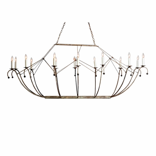 Spring Island Ark Oval Basket Chandelier - Two Sizes