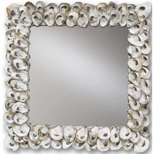 Square Oyster Shell Mirror *Backorder
