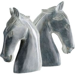 Stallion Stone Book Ends *NEW