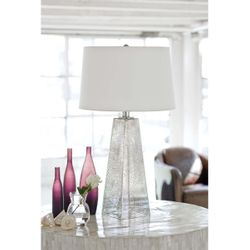 Stardust Glass Table Lamp<font color=a8bb35> Discontinued</font>