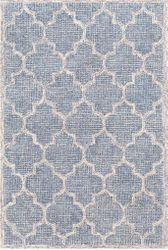 Starlit Denim Hand Tufted Rug  <font color=a8bb35> NEW</font>
