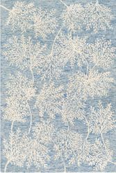 Starlit Ice Blue Hand Tufted Rug  <font color=a8bb35> NEW</font>