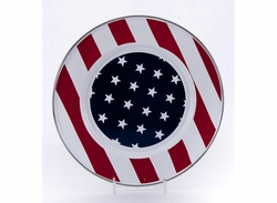 Stars & Stripes Dinner Plates Set of Four