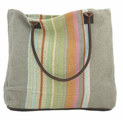 Stone Soup Woven Cotton Tote Bag 15% Off