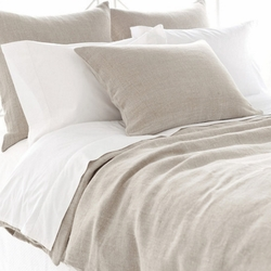 Stone Washed Linen Natural Duvet Cover 15% Off