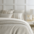 Stone Washed Linen Pearl Grey Duvet Cover