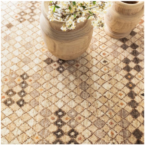 Sven-Hand Knotted Jute Rug