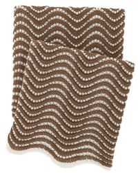 Swell Knit Throw Mocha<font color=a8bb35> NEW</font>