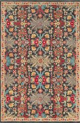 Tabriz Dark Red Hand Tufted Rug <font color=a8bb35> NEW</font>