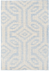 Taj Blue Woven Wool Rug <font color=a8bb35>NEW</font>