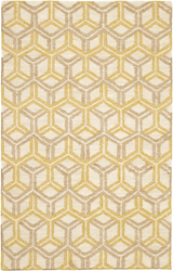 Tala Gold Woven Jute Rug *NEW