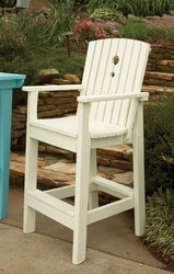 Portland Tall Outdoor Dining Chair