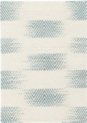 Tansy Blue Woven Wool Rug *Backorder