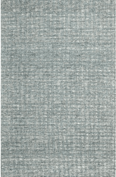 Tattersall Blue Hand Tufted Rug <font color=a8bb35> NEW</font>