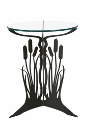 Metal Cattail Table