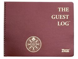 The Guest Log<font color=cf2317> Sold Out</font>