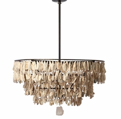 Three Tier Shells Chandelier