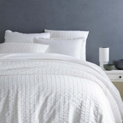 Tidal White Duvet Cover 15% Off
