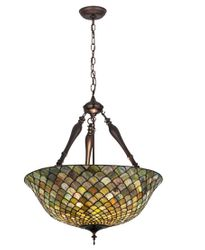 Tiffany Fishscale Chandelier <font color=a8bb25> Sold Out</font>