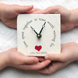 Time Spent Together Clock