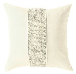Topaz Pillow - Ivory Oyster
