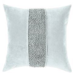 Topaz Pillow - Pewter <font color=a8bb35> NEW</font>