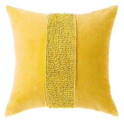 Topaz Pillow - Yellow <font color=a8bb35> NEW</font>