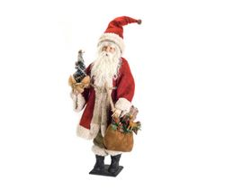 Town & Country Christmas Santa with Tree