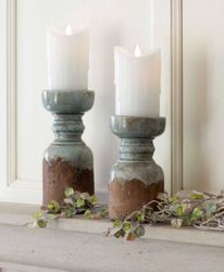 Town & Country Rustic Candle Holder Set of 4 *Out of Stock