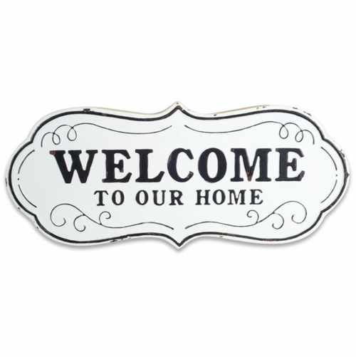 Town & Country Welcome to Our Home Plaque