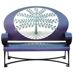 Tree of Life Metal Garden Bench *NEW*