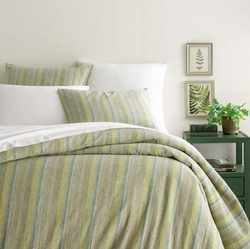 Treetop Linen Stripe Duvet Cover *NEW