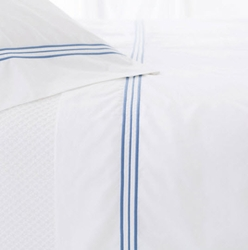 Trio French Blue Pillow Cases (Pair) 15% Off