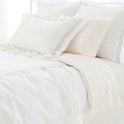Trio Pearl Grey Duvet Cover 15% Off