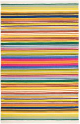 Tropical Stripe Multi Indoor/Outdoor Rug